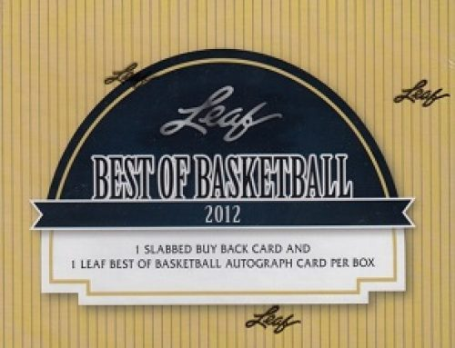 2012 Leaf Best of Basketball