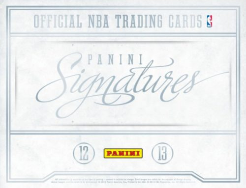 2012-13 Panini Signatures Basketball