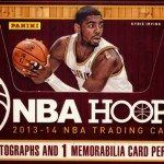 2013 14 Panini NBA Hoops Basketball Cards box