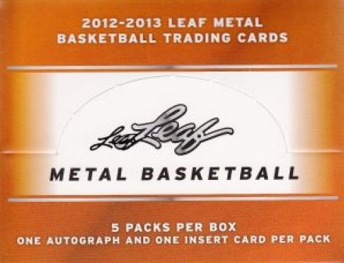 2012-13 Leaf Metal Basketball