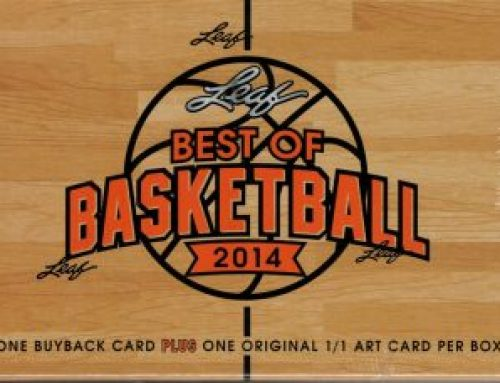 2014 Leaf Best of Basketball