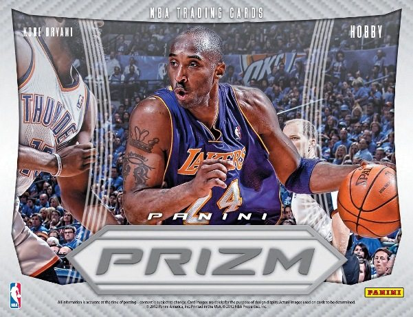 2012 13 Panini Prizm Basketball box
