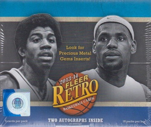 2013-14 Fleer Retro Basketball Box_0
