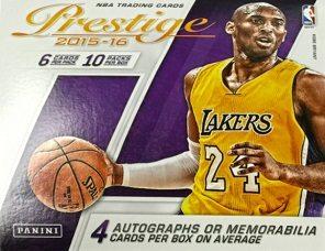 2015-16 Panini Prestige Basketball