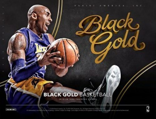 2015-16 Panini Black Gold Basketball