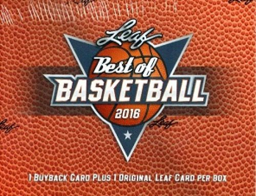 2016 Leaf Best of Basketball
