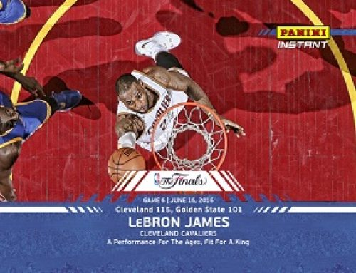 2016 Panini Instant NBA Finals Basketball