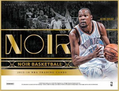 2015-16 Panini Noir Basketball