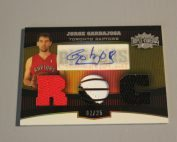 2006-07 Topps Triple Threads Gold #112 Jorge Garbajosa