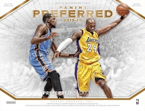 2015-16 Panini Preferred Basketball