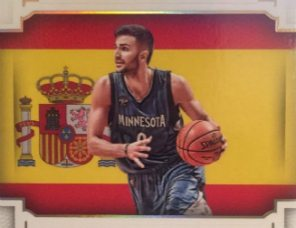 Cards NBA con referencias a España