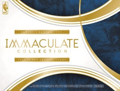 2015-16 Panini Immaculate Basketball