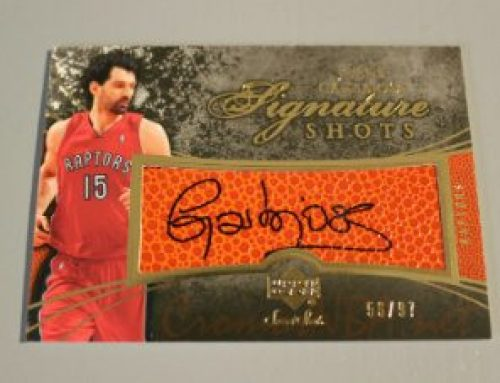 2007-08 Sweet Shot Signature Shots #JG Jorge Garbajosa