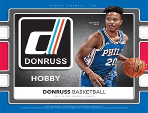 2017-18 Donruss Basketball