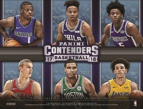 2017-18 Panini Contenders Basketball