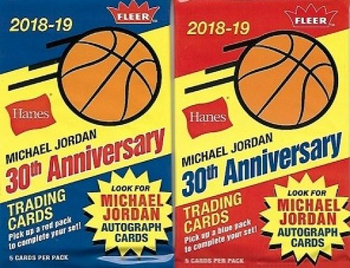 2018-19 Fleer Hanes Michael Jordan 30th Anniversary