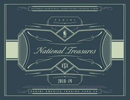 2018-19 Panini National Treasures Basketball