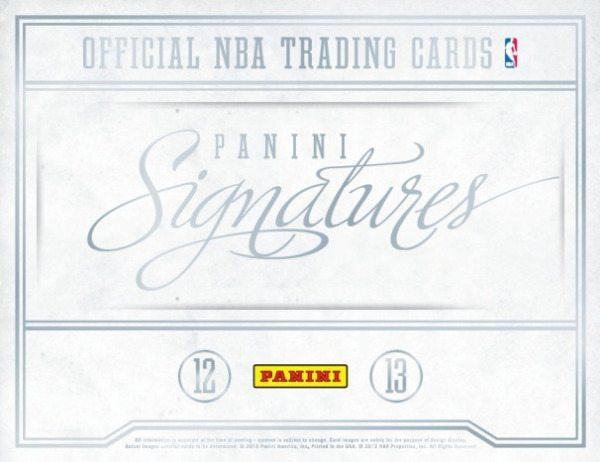 2012-13 Panini Signatures Basketball