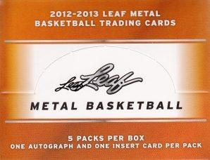 2012-13 Leaf Metal Basketball