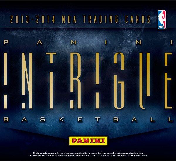 2013-14 Panini Intrigue Basketball