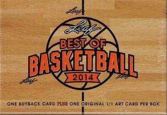 2014 Leaf Best of Basketball
