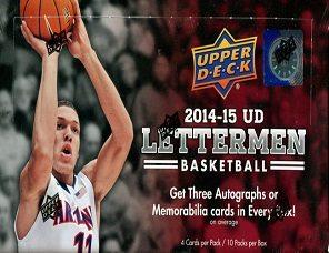2014-15 Upper Deck Lettermen Basketball