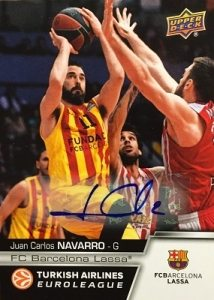 2015-16 Upper Deck Euroleague Basketball | Cromos NBA