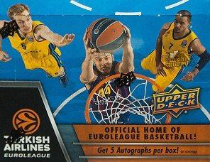 2015-16 Upper Deck Euroleague Basketball