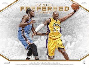 2015-16 Panini Preferred Basketball