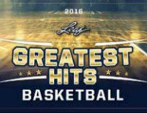 2016 Leaf Greatest Hits Basketball