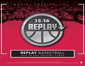 2015-16 Panini Replay Basketball