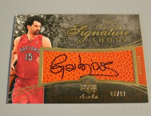 2007-08 Sweet Shot Signature Shots #JG Jorge Garbajosa