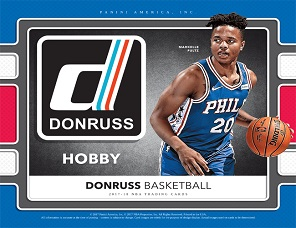 2017-18 Donruss Basketball
