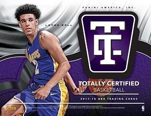 2017-18 Panini Totally Certified Basketball