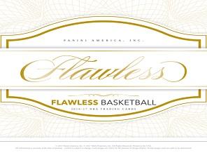 2016-17 Panini Flawless Basketball