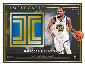 2018-19 Panini Impeccable Basketball