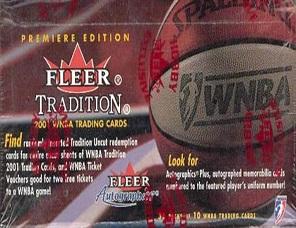 2001 Fleer Tradition WNBA Basketball